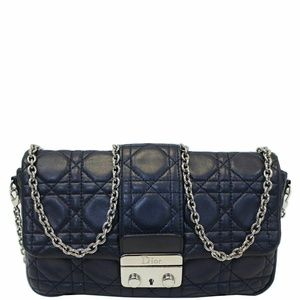 CHRISTIAN DIOR MissQuilted Leather Crossbody Bag